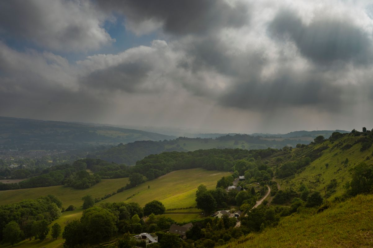 Storm Coming to the Cotswolds