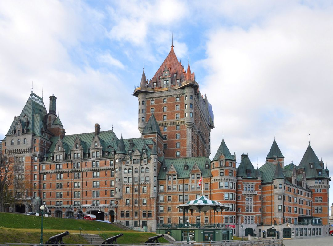 Chateau Frontenac without people