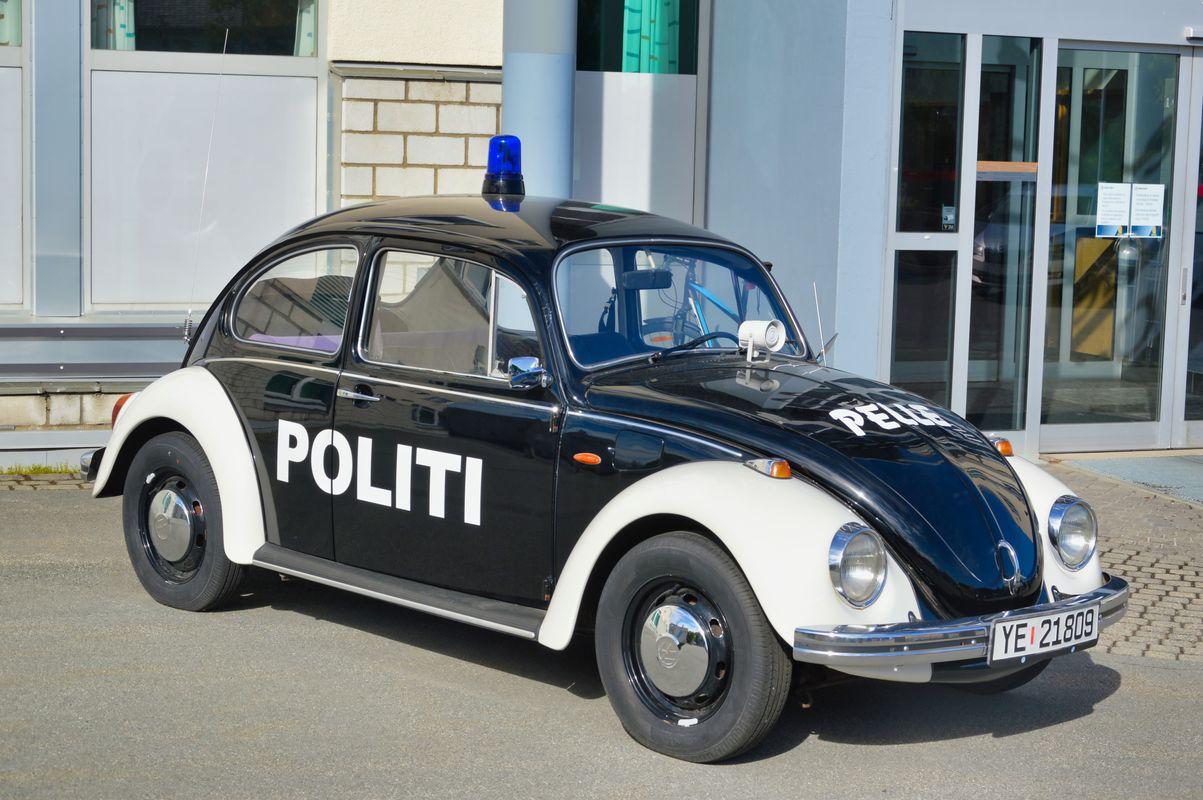 Beetle Police Car