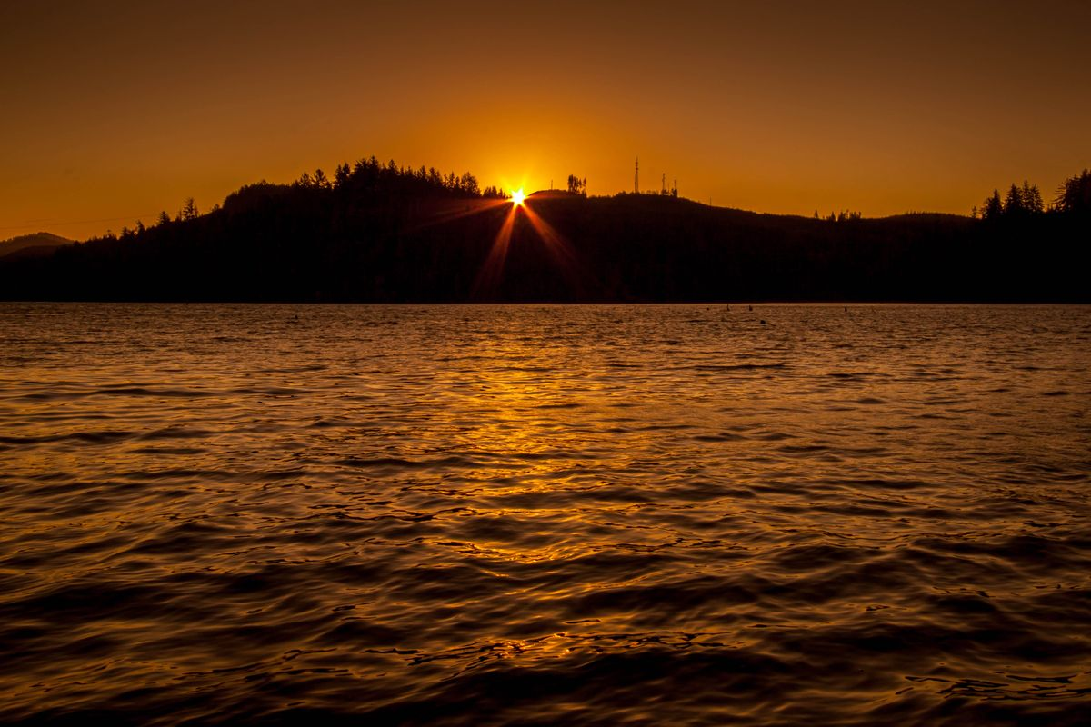 Sunrise Over the Siuslaw River