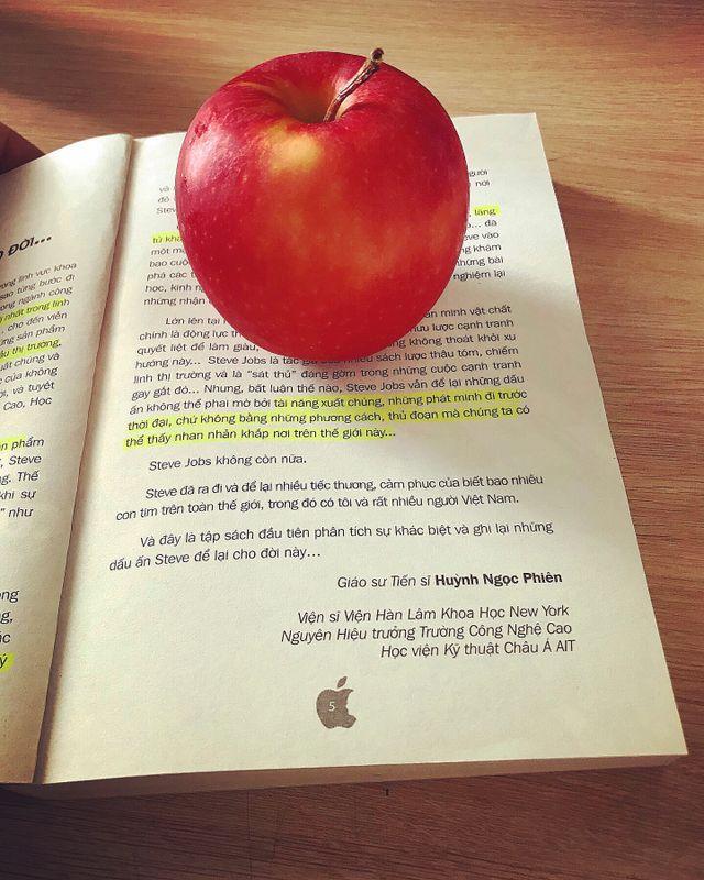 I'm a big fan of Apples
