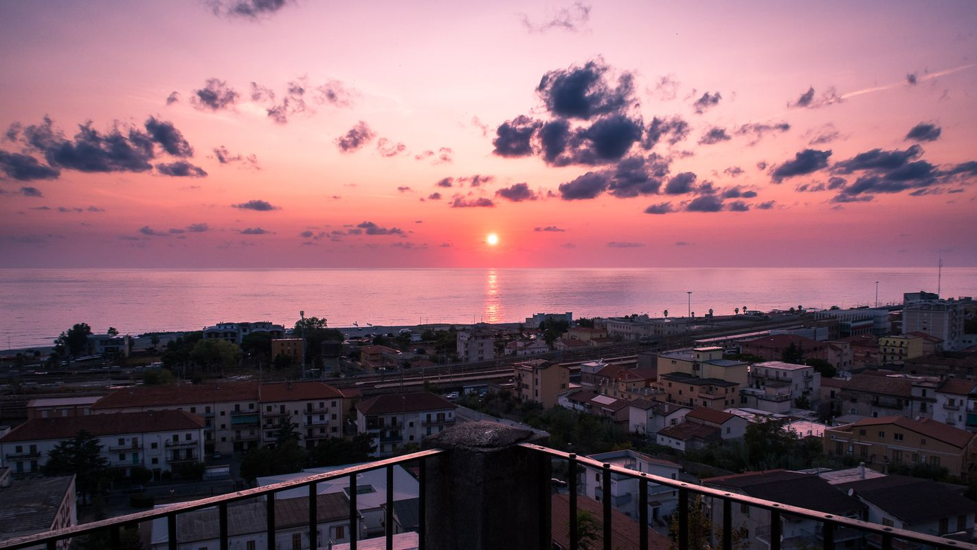 Sunset In Paola Calabria