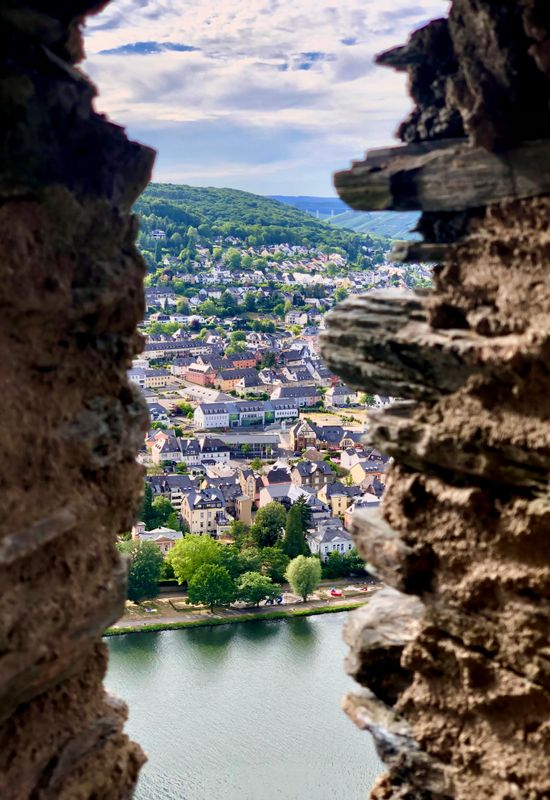A View From A Castle