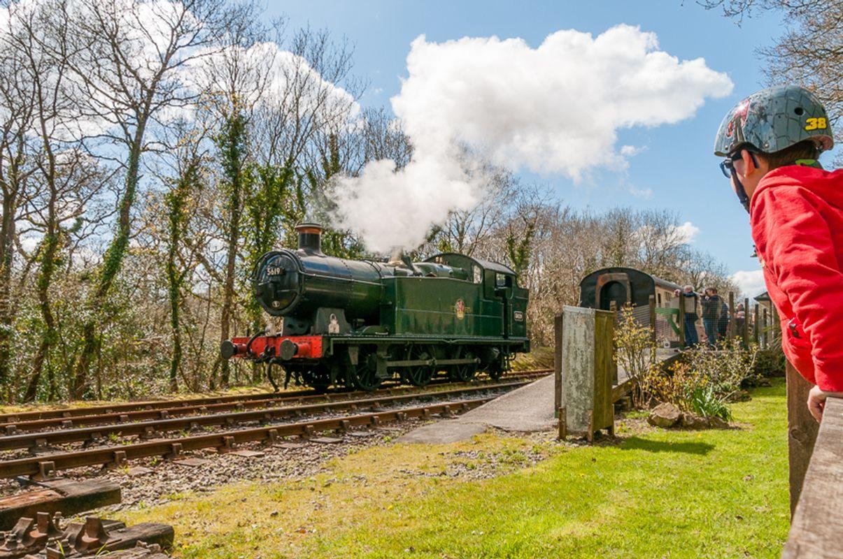Bodmin and Wenford Railway, Steam Train