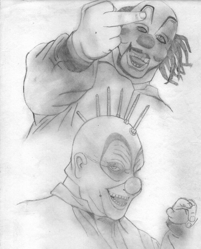 Shawn crahan (very old drawing)