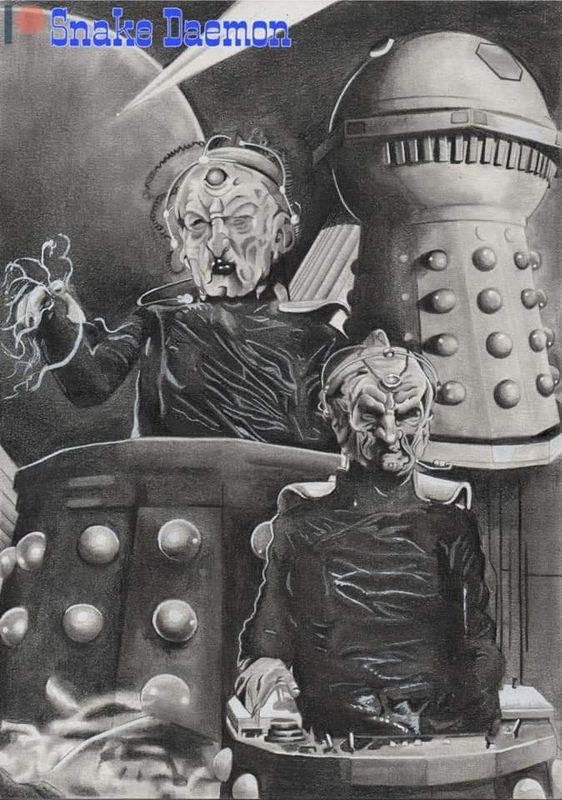 Lord and creator of the dalek race