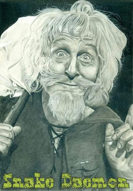 Geoffrey bayldon as catweazle