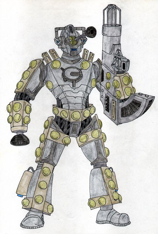 Cyberman dalek hybrid