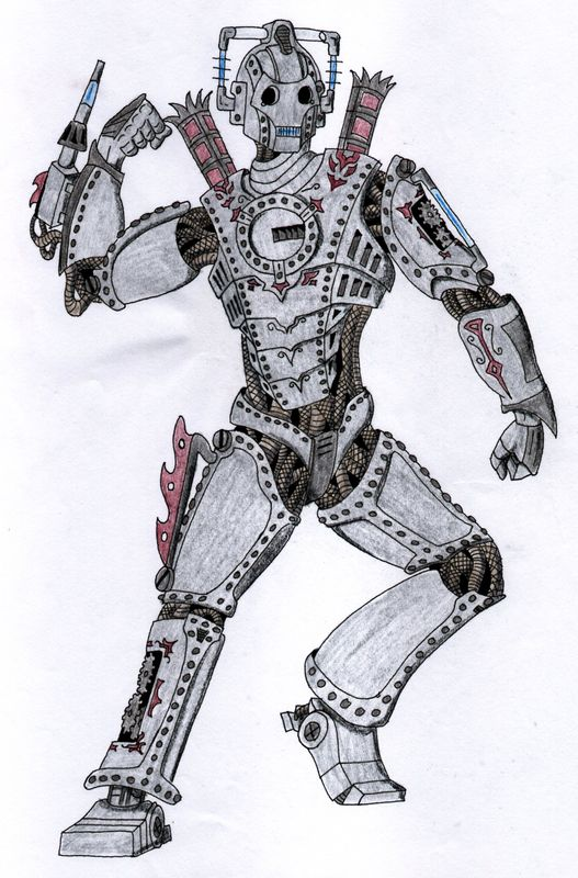Steampunk cyberman