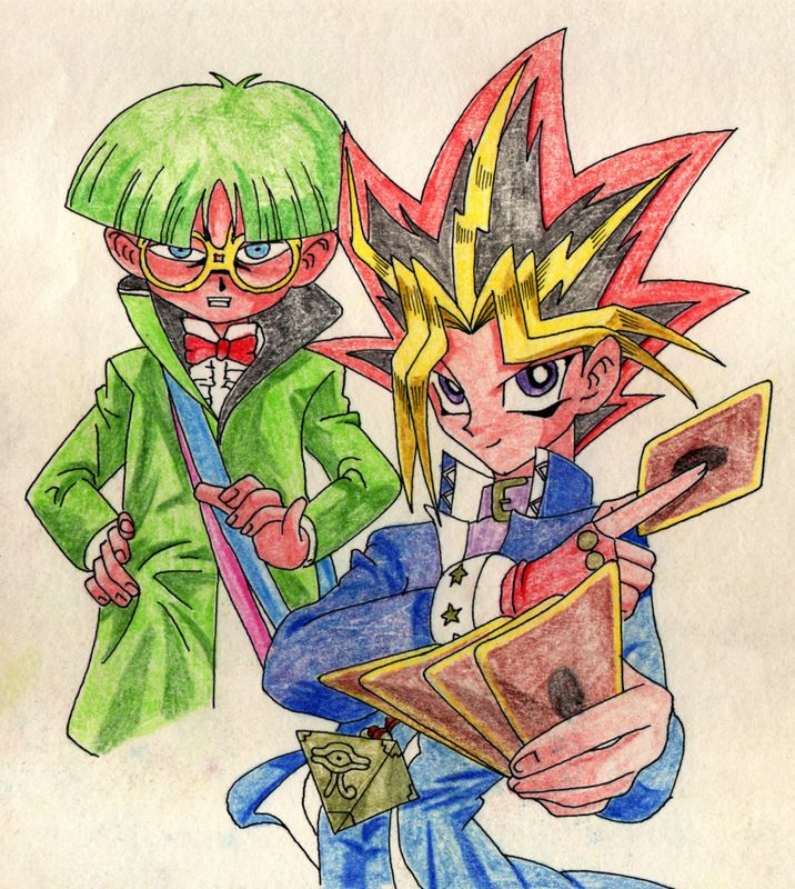 Yugi and weevil