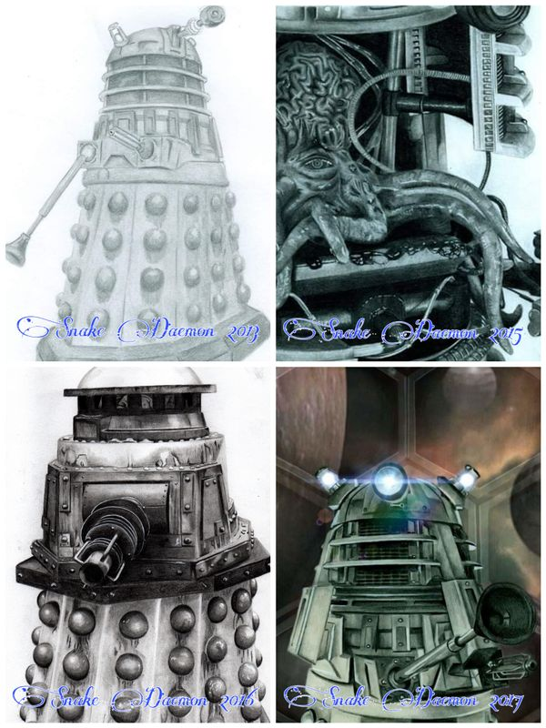 Dalek - comparison