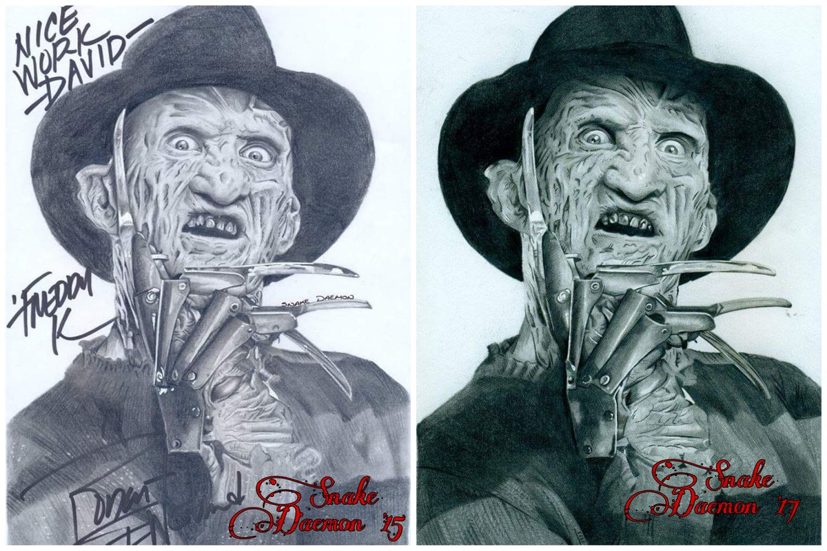 Freddy krueger - direct comparison