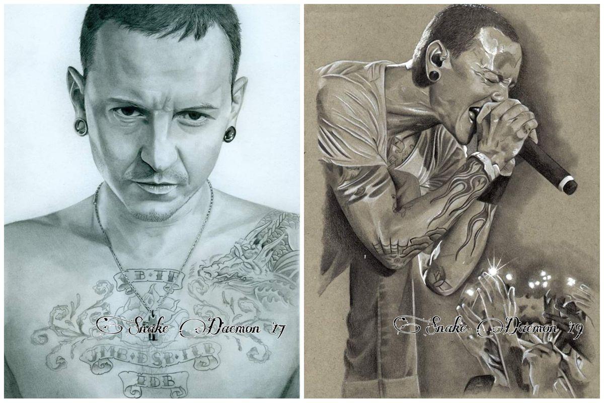 Chester bennington - comparison