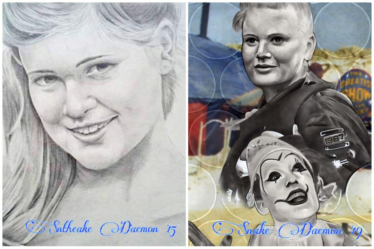 Sophie Alfred - comparison