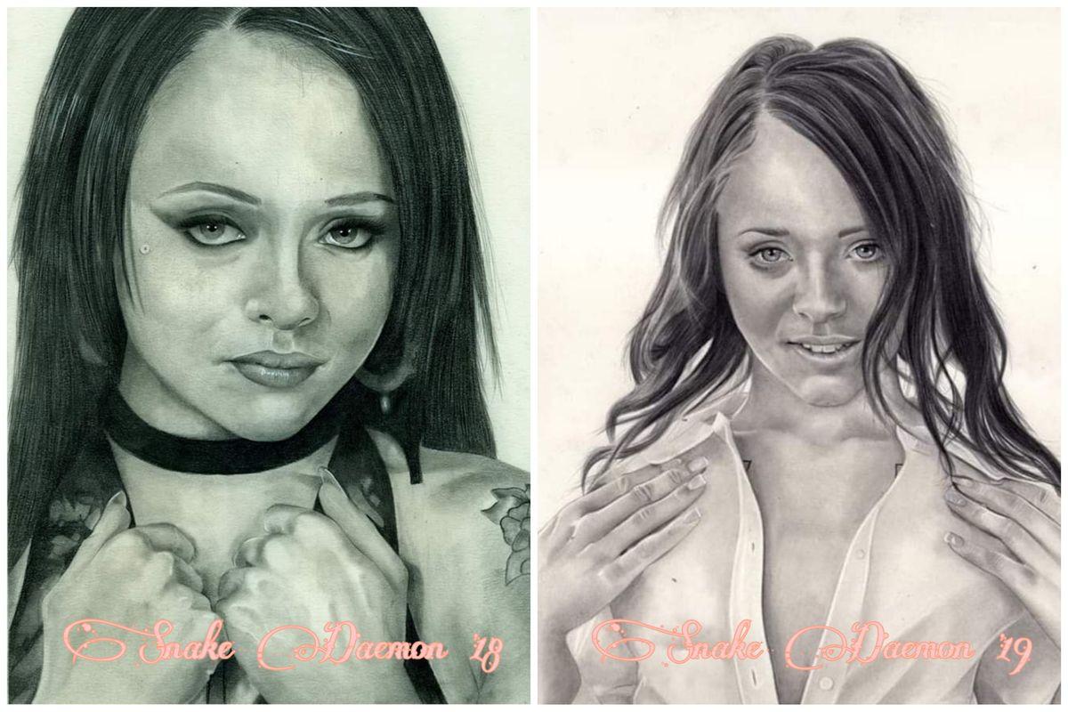 Holly Hendrix - comparison