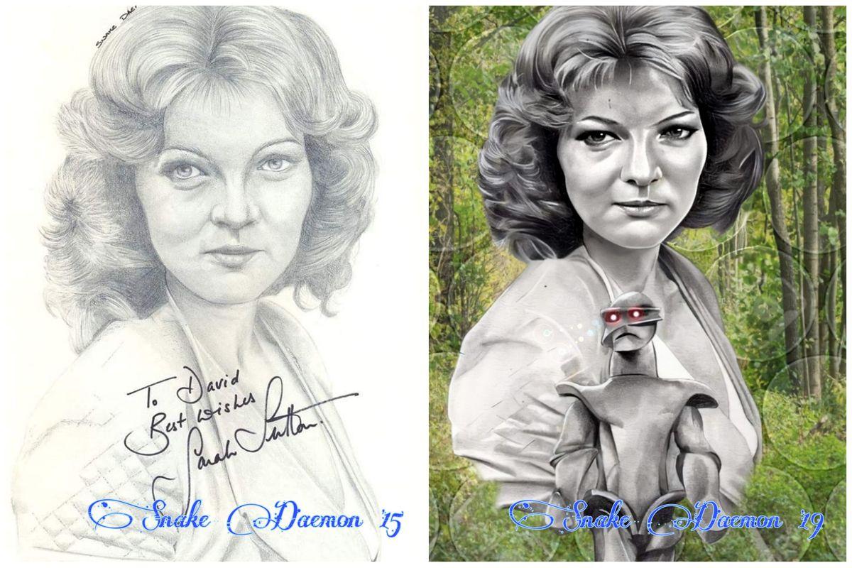 Sarah Sutton - comparison