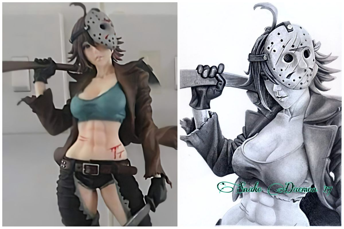 Ms Jason - figure/drawing comparison