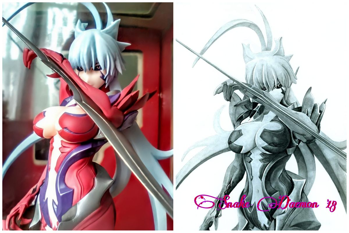 Masane amaha - figure/drawing comparison