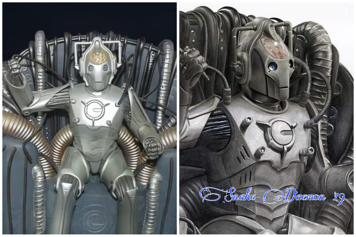 Cyber-controller - figure/drawing comparison