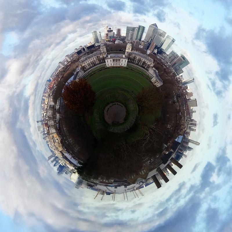 London tiny planet