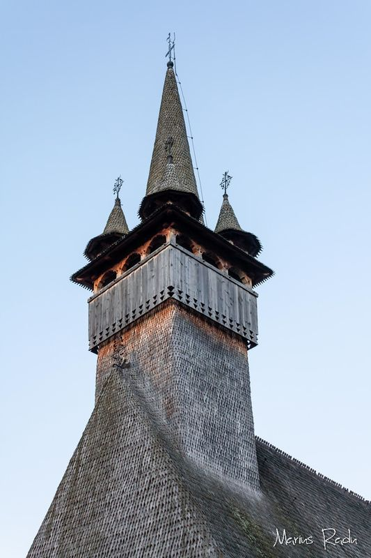 Wooden tower church