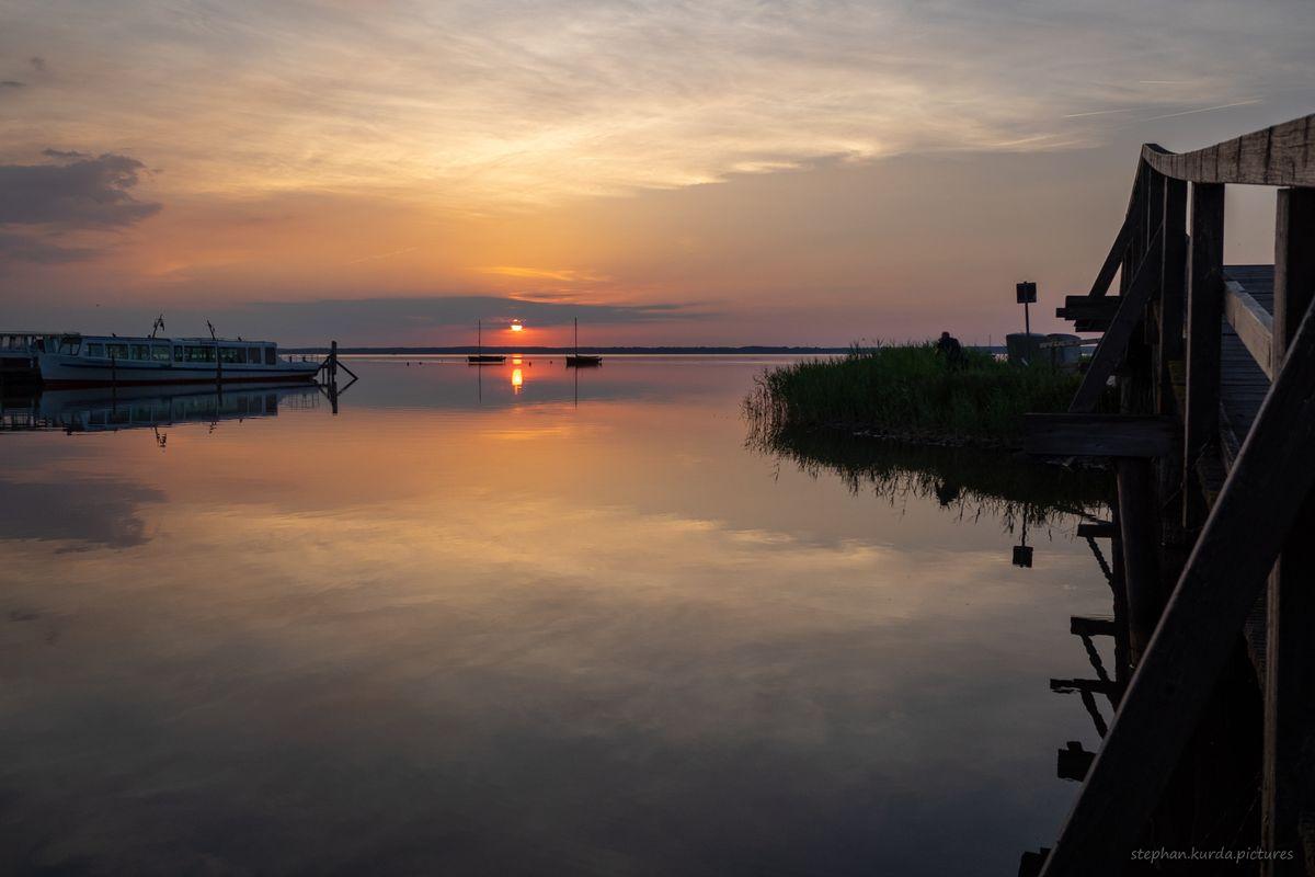 Sunset in Steinhude 1