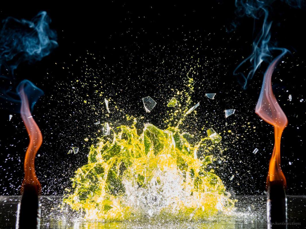 Fire smash yellow