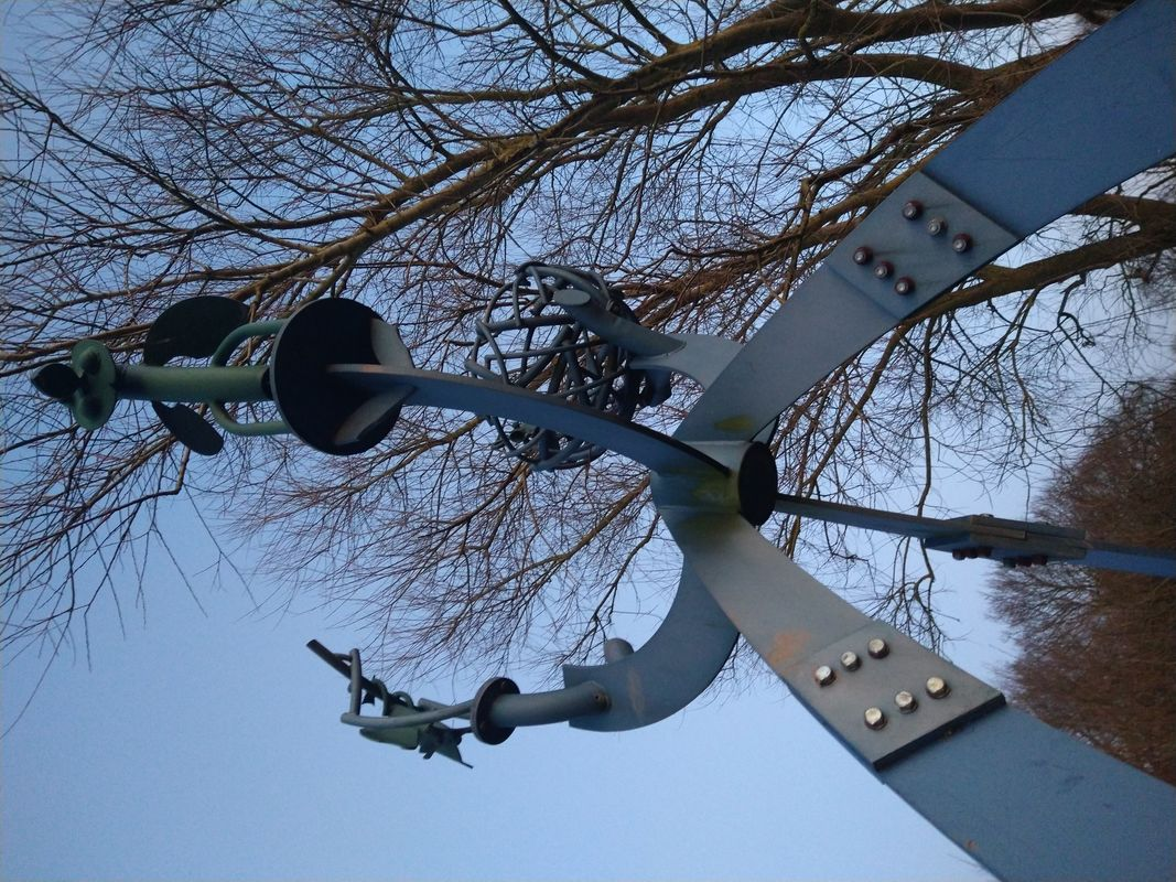 Sculpture on Selby Canal North Yorkshire