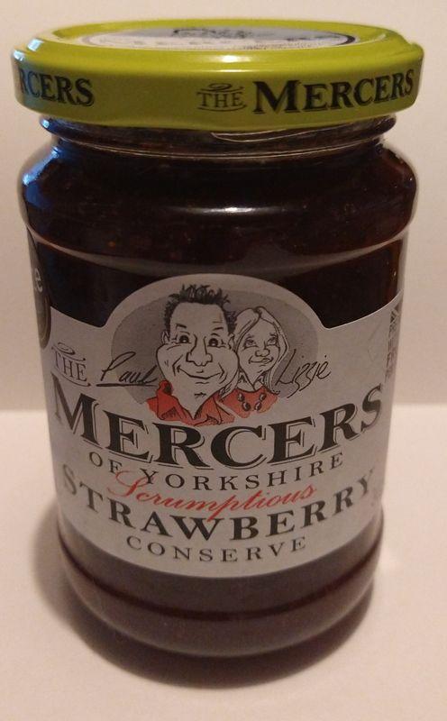 Mercers Strawberry Jam
