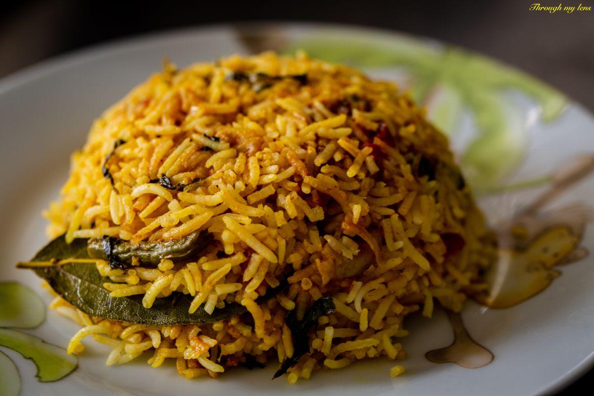 Vegetable Biryani - Indian Favourite