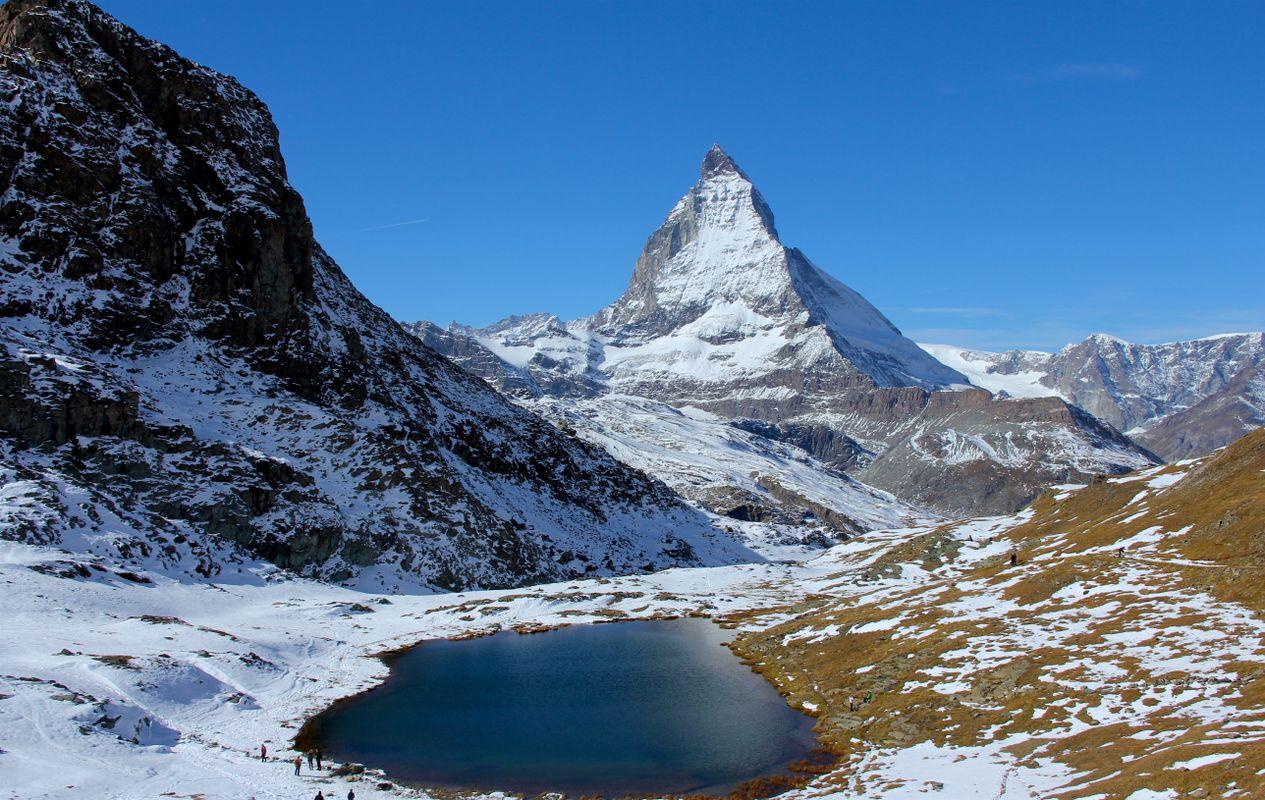 View of Riffelsee & Matterhorn