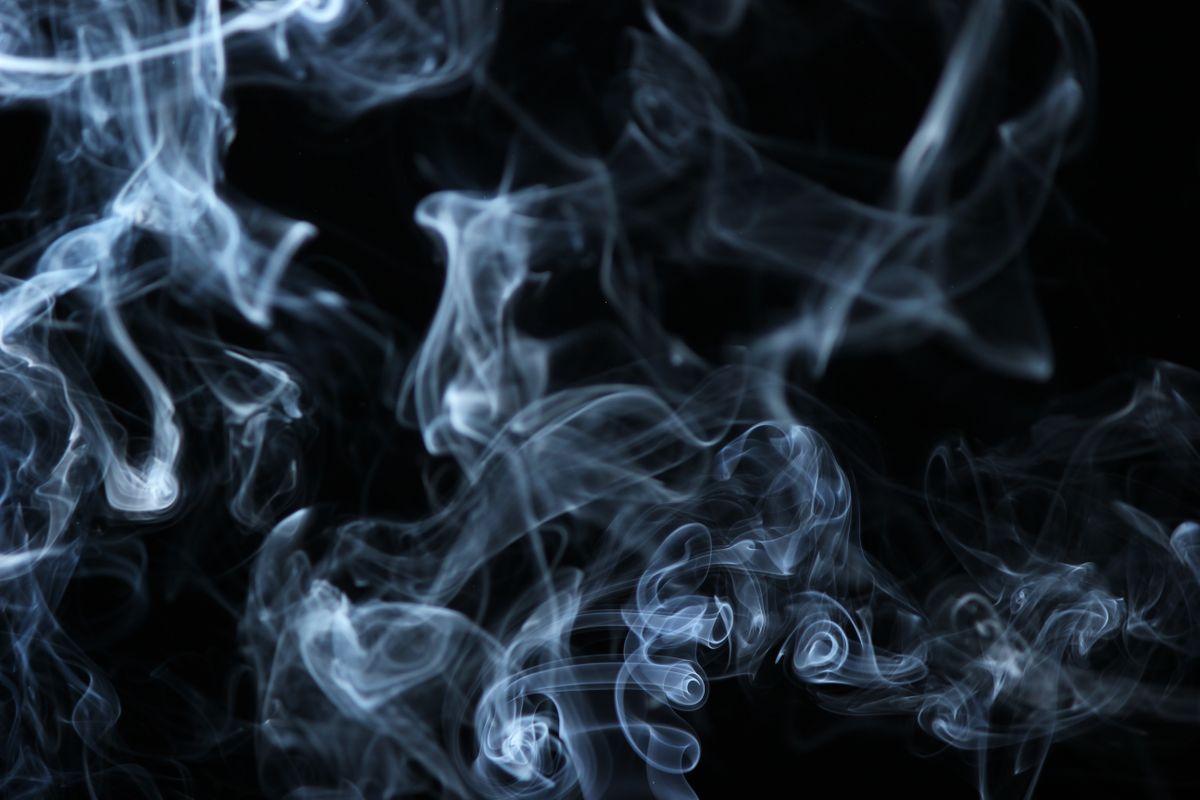 Black-and-white-white-smoke