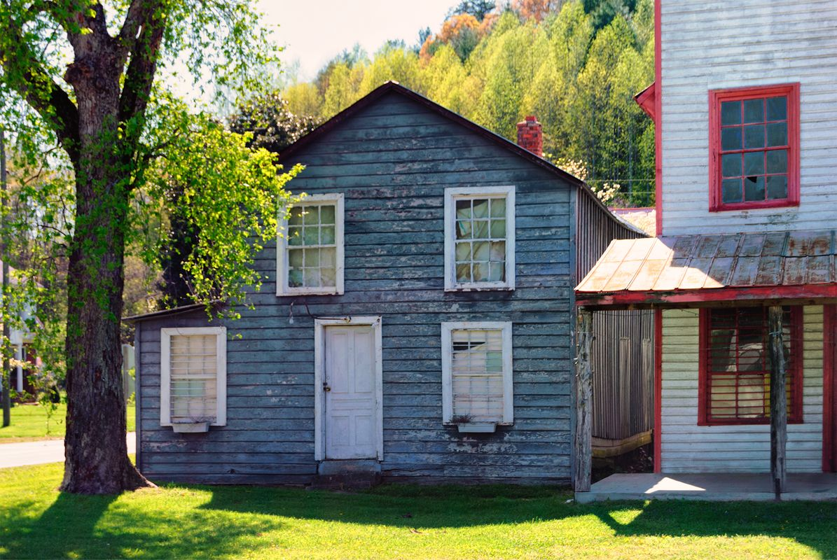 Abandoned Buildings in Virginia, U.S