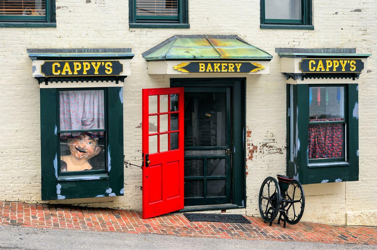 Cappy's Bakery at Camden, Maine