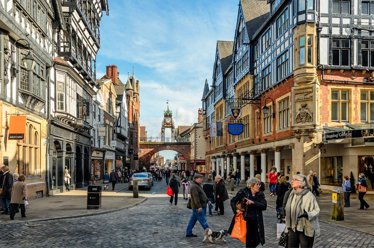 An ordinary day in extraordinary Chester