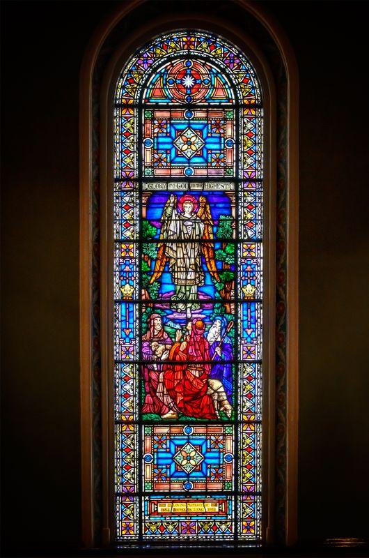 Church Window in Savannah, Georgia, U.S.