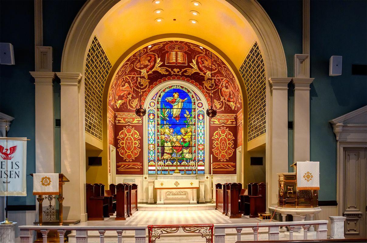 Lutheran Church of the Ascension, Savannah, Georgia, U.S.