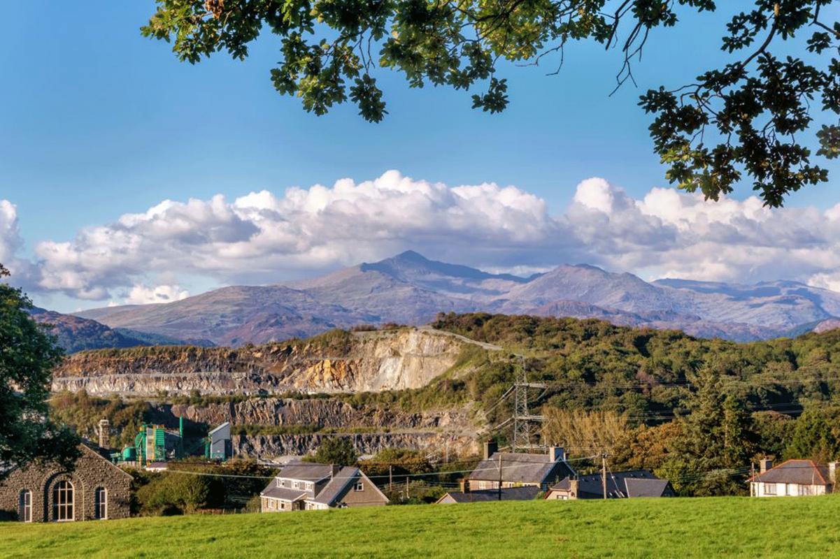 Snowdonia slate mine