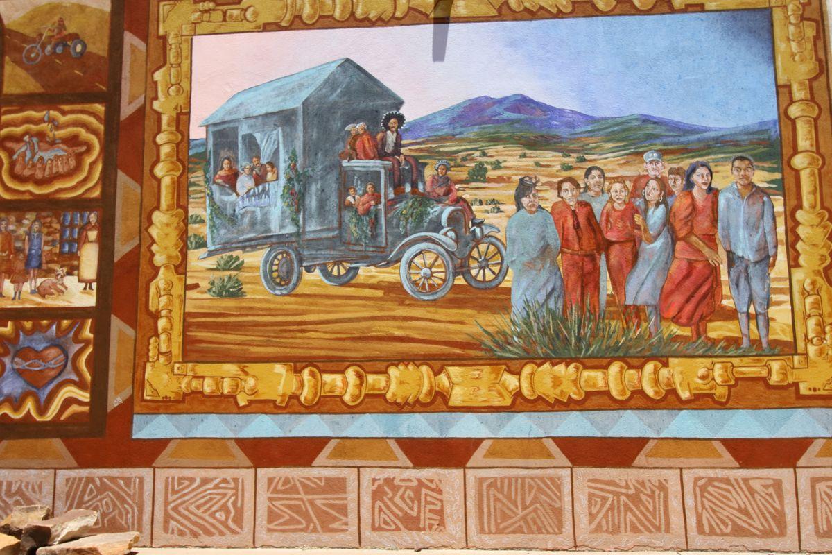 Early Sapnish influence on NM mural#7JPG