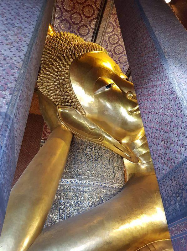 Biggest lying Buda in Thailand,
