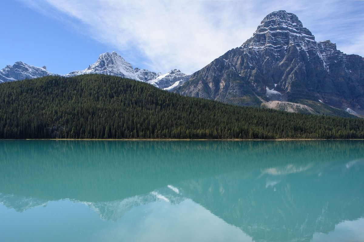 Scenery on the Icefields Parkway