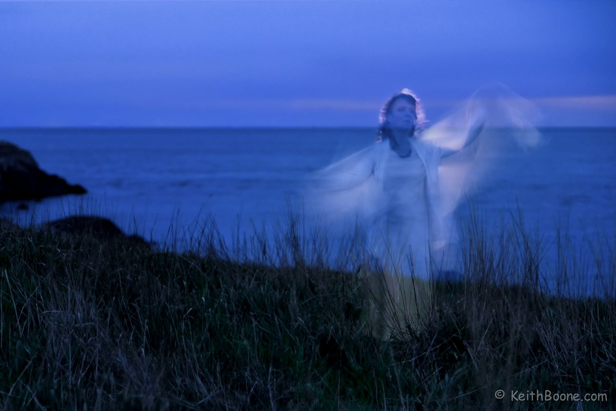 Ghost in the moonlight
