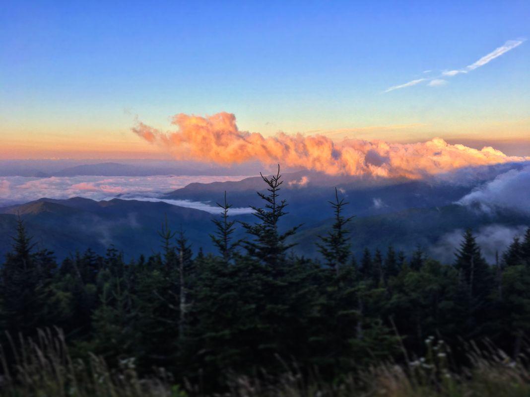 Smokie Mountain Sunrise