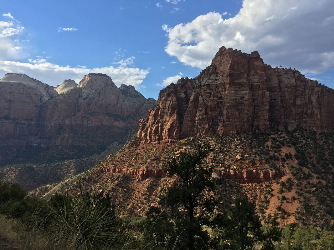 Mountainous Zion National Park