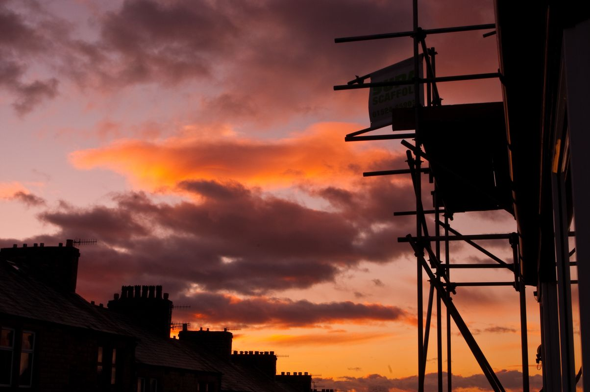 Lancaster sunset balmoral road
