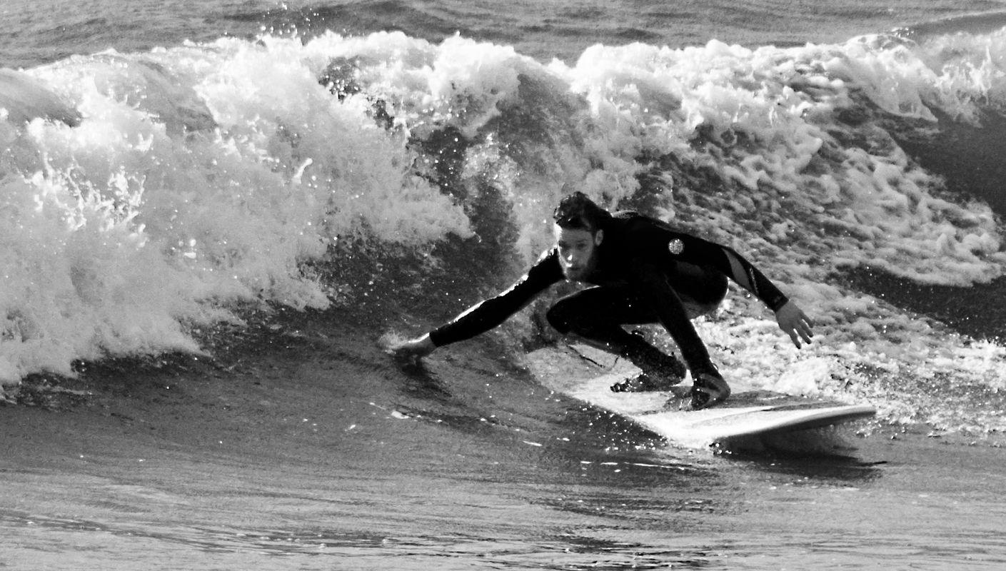 Whitehaven five O surfer dude