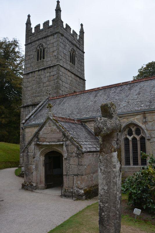 Church at Lanhydrock