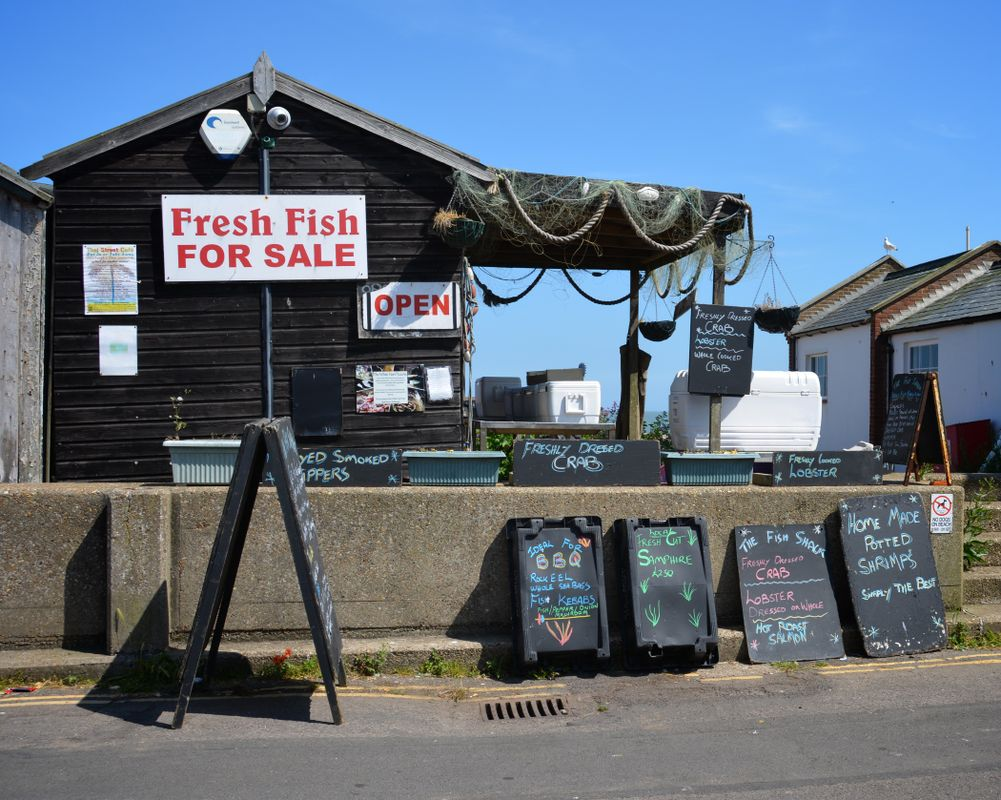 Fish hut Aldeburgh