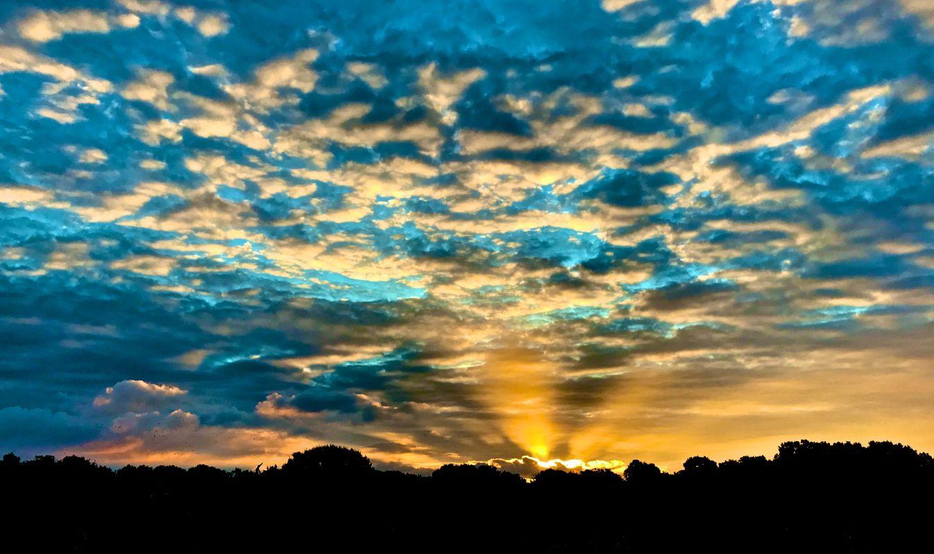 Sunrise at Polstead