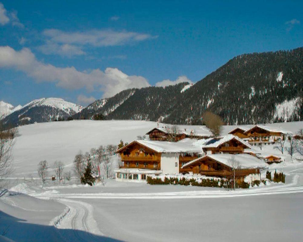 Winterlandschaft in Tirol, Österreich